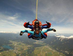 skok s padalom, tandemski skok 001